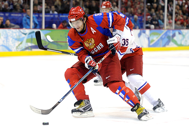Alex Ovechkin will want to make ammends for Russias ultimately disappointing 2010 Olympic campaign in Vancouver