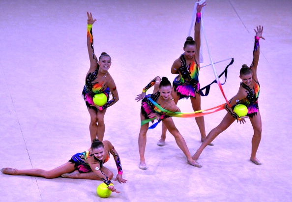 Belarusian gymnasts wowed judges with their performance in Kiev