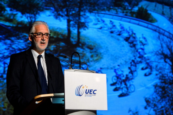 Britain's Brian Cookson has been promised all 14 of Europe's votes in the race to be the next President of the UCI