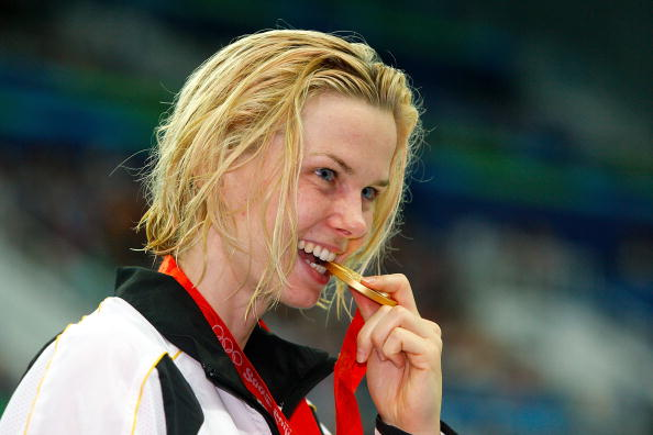 Two-time Olympic gold medallist Britta Steffen has announced her retirement from swimming at the age of 29