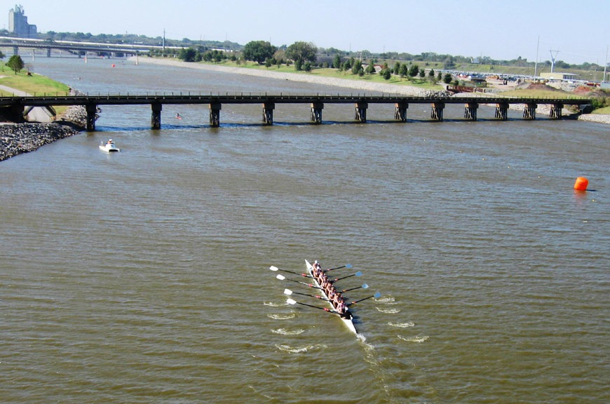 Canoeists will battle it out on the Oklahama River in 2014