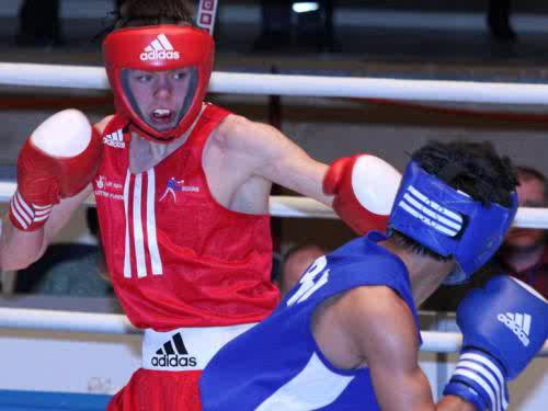 AIBA suspended ABAE after it banned WSB signed boxers, including Charlie Edwards (pictured), from competing at the national championships