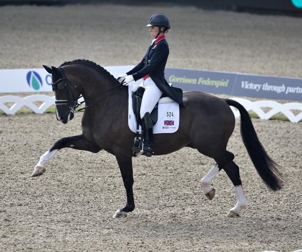 Charlotte Dujardin and Valegro are back on top of the FEI dressage world rankings