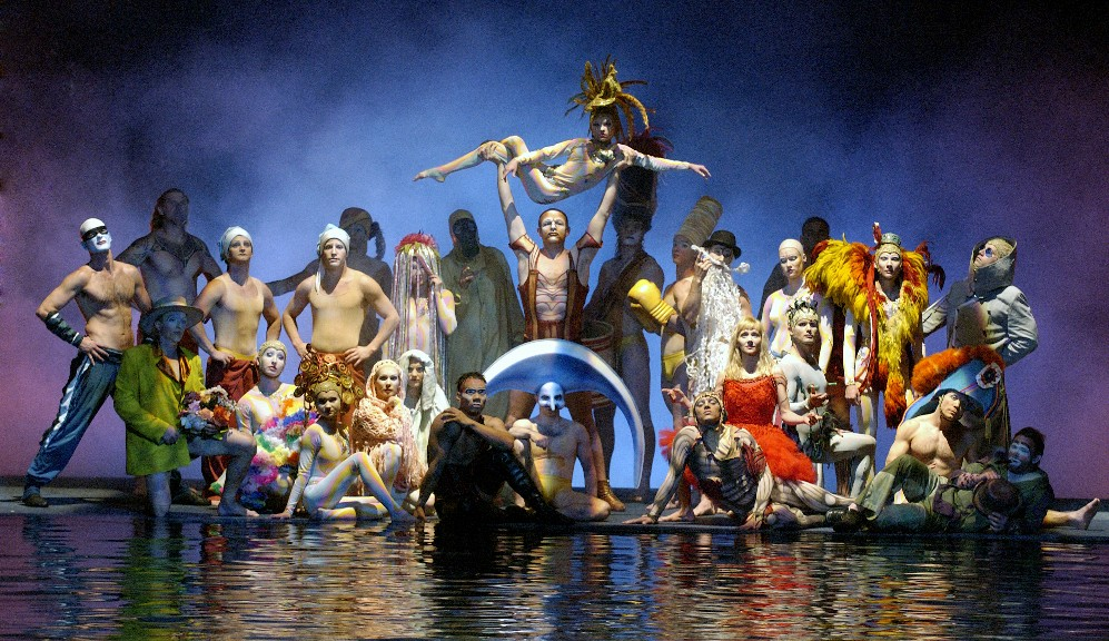 Cirque du Soleil is known for its acrobatics, colour and stagecraft