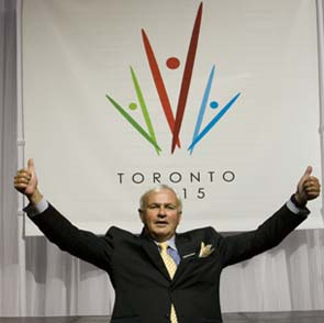 David Peterson, the man who led Toronto's successful bid to host the 2015 Pan and Parapan American Games, has been named as chair of the organising committee