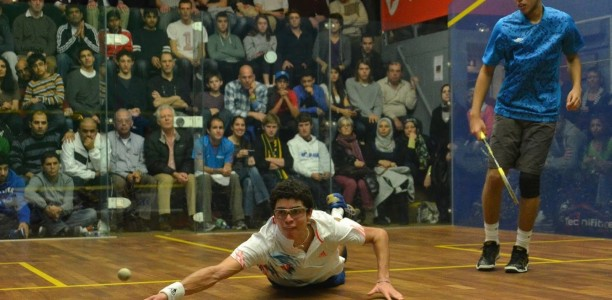 Diego Elias is a strong hope for the future and for 2020 success should squash be added to the programme