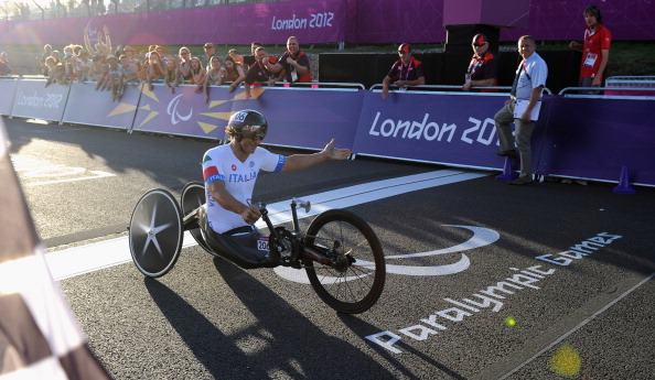 Double handcycling gold medallist Alex Zanardi has been shortlisted for the best male Games debut award