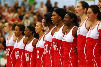 England's netball players will train at new INTC at University of Bath as build-up to Glasgow 2014 continues