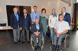 Paul de Pace was re-elected as President of IWAS, whilst two new executive board members were appointed