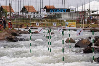 Foz do Iguassu hosted the 2007 Canoe Slalom World Championships
