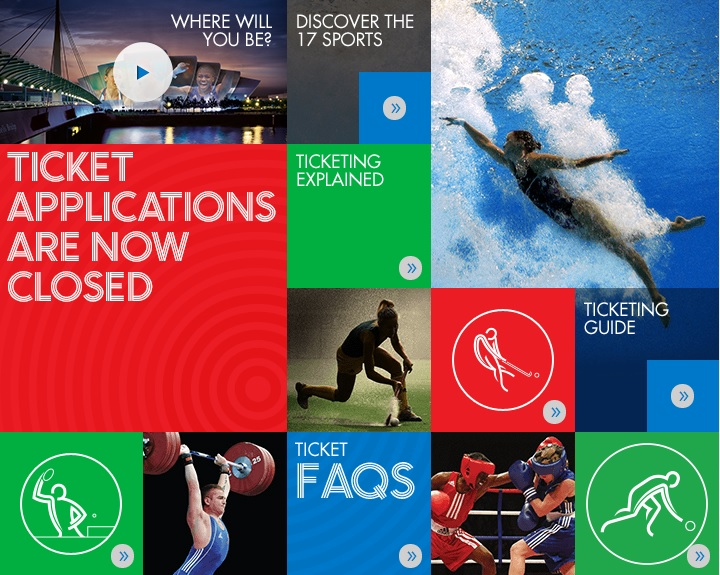 Glasgow 2014 has revealed that 2.3 million ticket requests have been received as ticket applications close