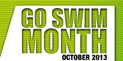 Go Swim Month 2013 starts on October 1