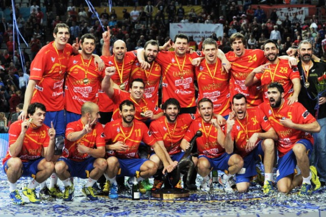 Hosts Spain won the men's World Handball Championships earlier this year