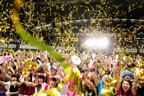 Huge celebrations in Japan followed the awarding of the 2020 Olympics to Tokyo