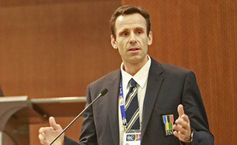Jean-Christophe Rolland will become FISA President in July 2014
