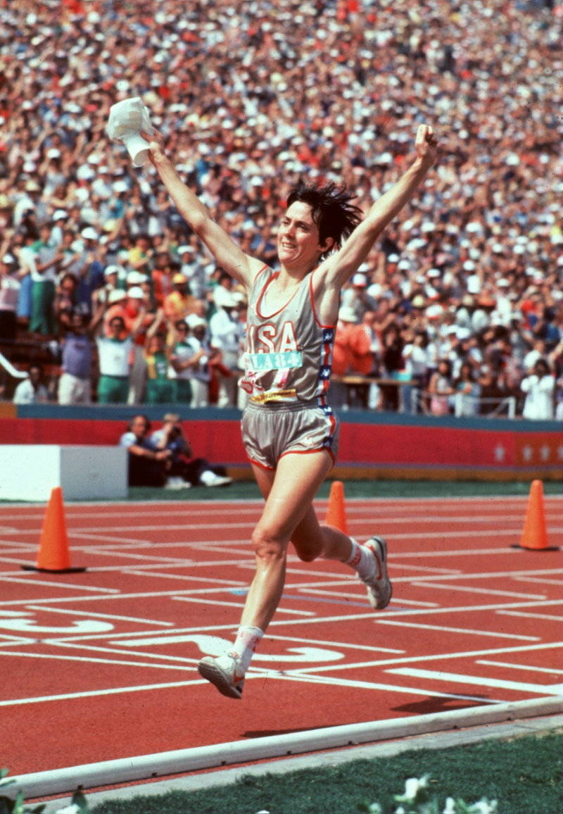 American Joan Benoit won the inaugural Olympic women's marathon at Los Angeles in 1984
