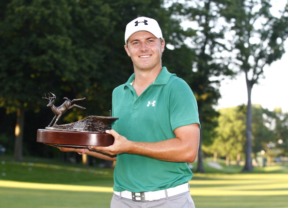 Jordan Spieth became the youngest player since 1931 to win on the PGA Tour when he wont he John Deere Classic in Illinois this year