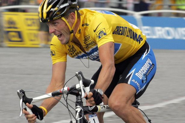 Lance Armstrong, stripped of his seven Tour de France victories, has received a message of support from Ben Johnson