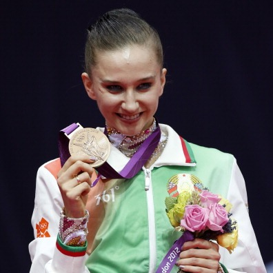 Liubov Charkashyna has been elected to the FIG Athletes' Commission