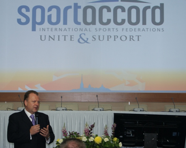 Marius Vizer has been elected as the new President of the SportAccord International Convention