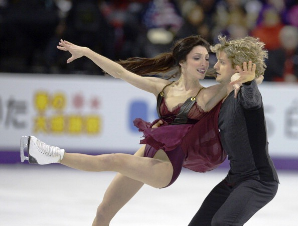 Meryl Davis and Charlie White are the reigning US Figure Skating Championship dance champions
