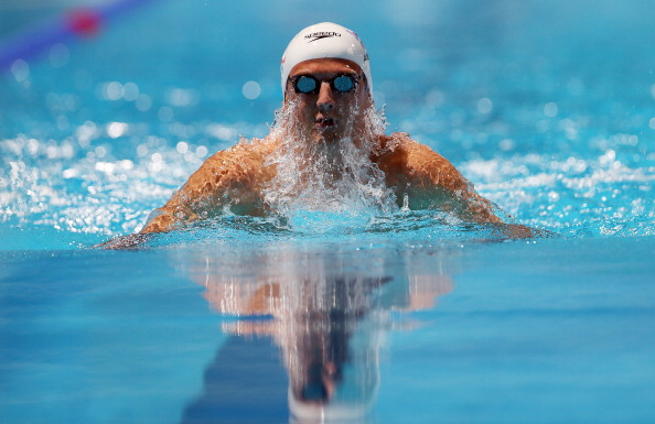 Michael Jamieson is looking forward to competing in his home town at the 2013 Duel in the Pool