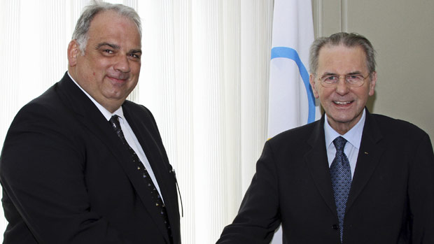 Nenad Lalovic, pictured with IOC President Jacques Rogge, has led a period of groundbreaking change for wrestling
