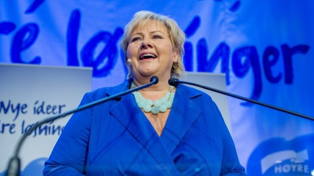 Norway's newly elected centre-right leader Erna Solberg will now have to consider the 2022 Winter Olympic and Paralympic Games bid
