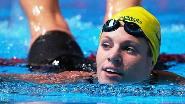 Olympic and World Championship silver medallist Emily Seebohm is backing Go Swim Month in Australia