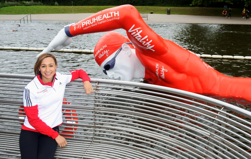 Olympic champion Ennis-Hill launches the ITU World Triathlon Grand Final in Hyde Park
