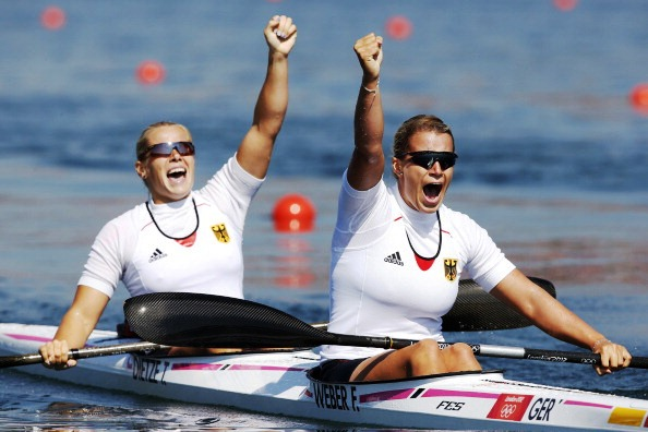 Olympic champions Franziska Weber and Tina Duietze became world champions in Duisburg