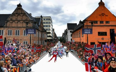 Oslo will bid to host the 2022 Winter Olympics depending on the success of todays referendum to decide the host