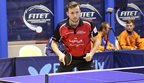 Patryk Chojnowski is the defending champion and reigning Paralympic gold medalist and will be one of the biggest names competing at this weeks European Para Table Tennis Championships