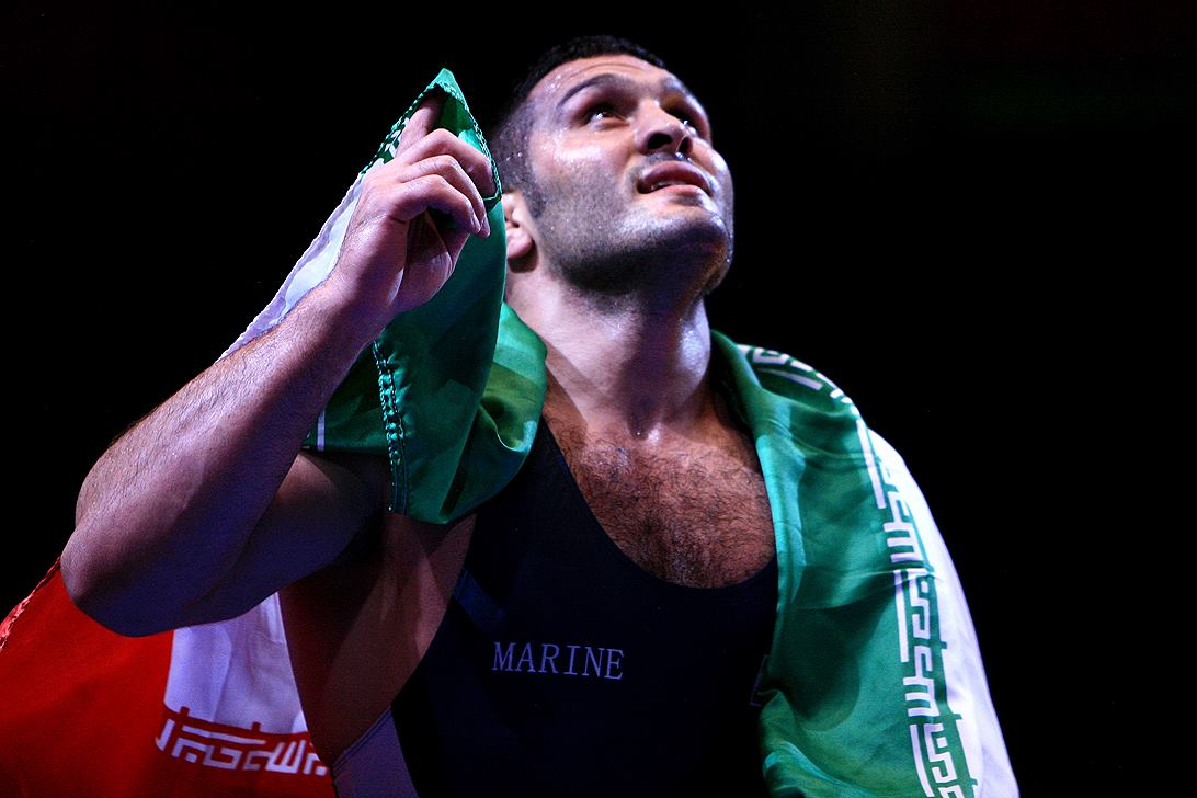 Reza Yazdani successfully defended his 96kg world title to take a gold for Iran at the Wrestling World Championships