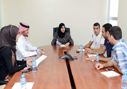 Ruqaya Al-Ghasra is asking Bahrain's national sports federations to nominate members to represent its athletes