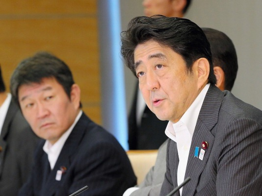 Shinzō Abe has pledged ¥47 billion for an ice wall around the Fukushima nuclear plant