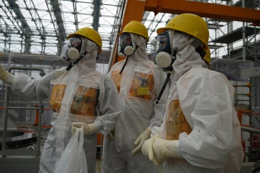 Shinzō Abe visited Fukushima after pledging that the Government would take a more central role in the clean up of the crippled nuclear plant