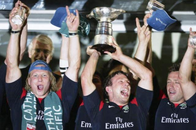 Simon Amor lead England to four successive Hong Kong Sevens titles between 2002 and 2006
