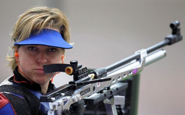 Slovakian Veronika Vadovicova will be keeping a close eye on the competition as shooters take to the range in Alicante next month