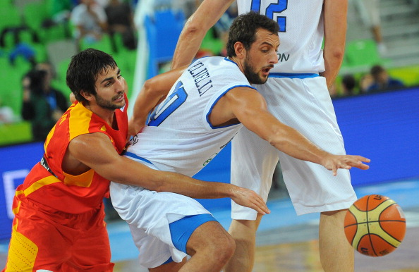 Defending champions Spain are through to the EuroBasket quarter-finals despite a shock overtime defeat to Italy