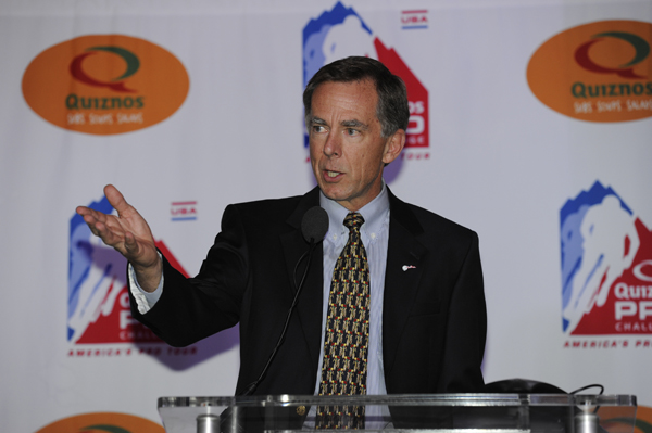Steve Johnson wants the CAS to rule on whether Pat McQuaid can stand for re-election as UCI President
