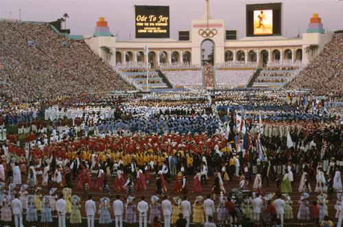The 2024 Games would mark the 40th anniversary of the Los Angeles 1984 Olympics