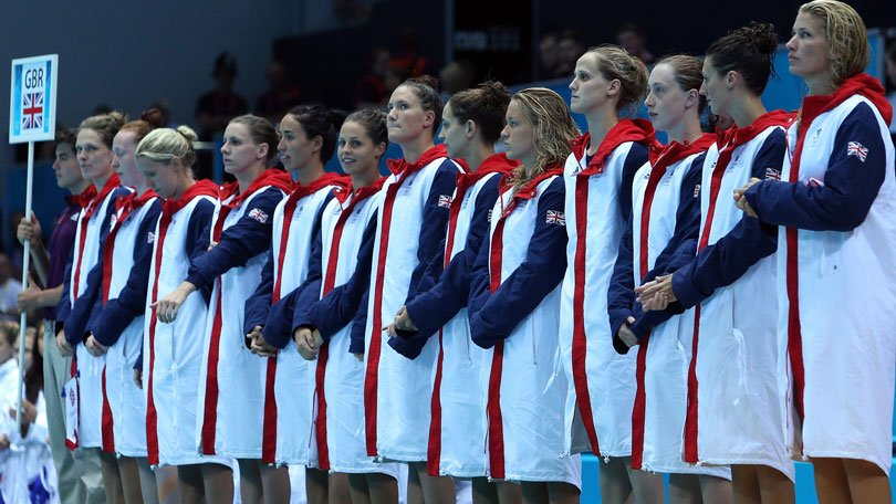 The British women's water polo team finished in eighth place at London 2012