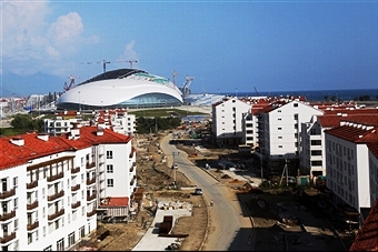 The IOC says that all Sochi 2014 competition venues are ready for the Games next year