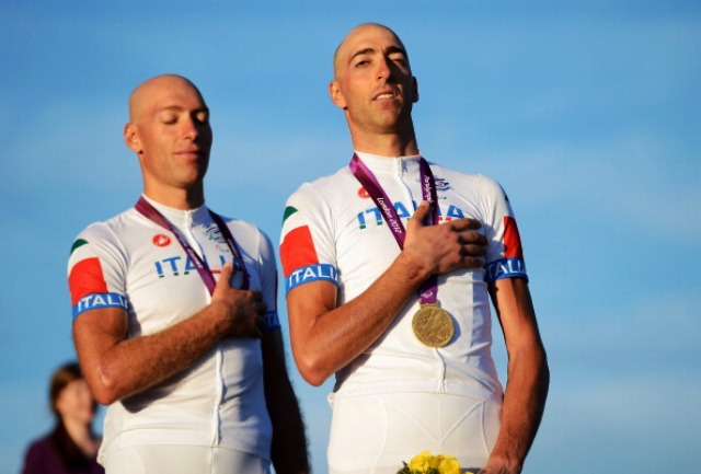 The Pizzi brothers of Italy added World Championship gold to their Paralympic gold from London 2012
