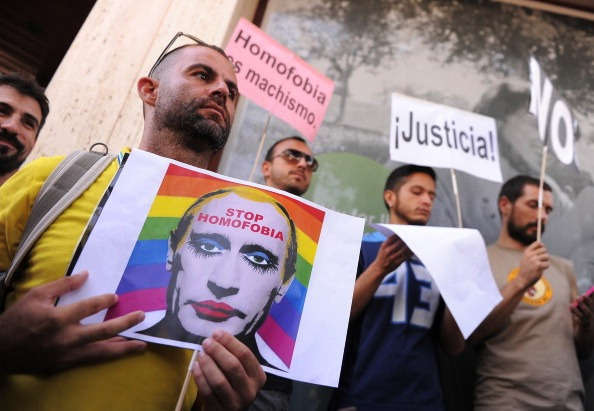 The anti-gay legislation signed off by Russian President Vladimir Putin has caused widespread protests