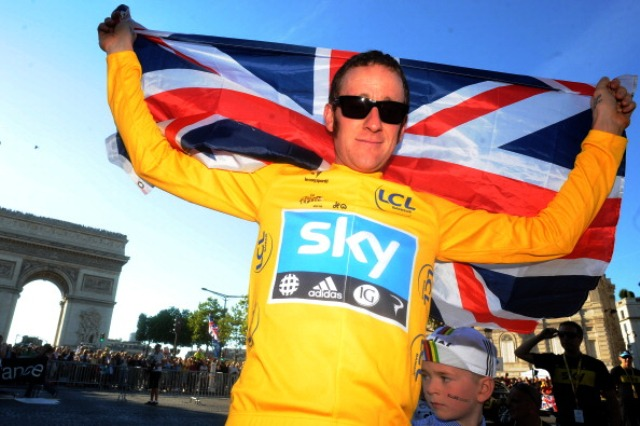 The success of Olympic champion and Tour de France winner Bradley Wiggins has contributed to the popularity of cycling in Britain