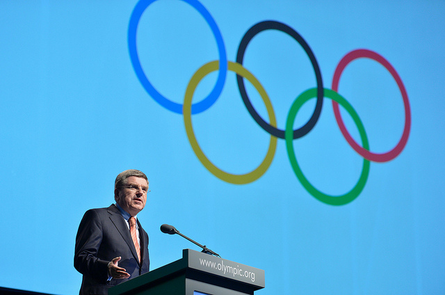 Thomas Bach will officially take over as new President of the IOC in Lausanne tomorrow