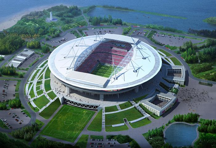 The Russian FA have proposed the under-construction Zenit Arena in St Petersburg as a host venue for Euro 2020