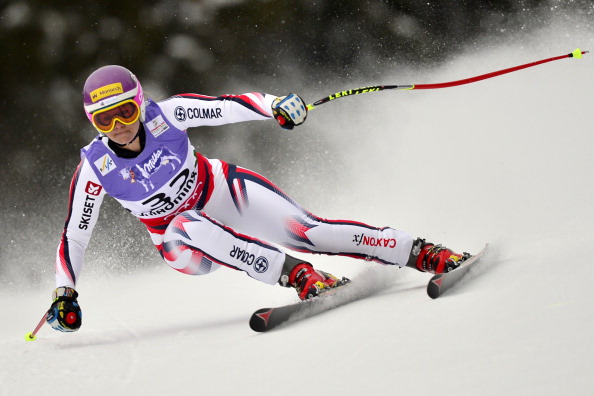 British skier Chemmy Alcott has signed a partnership deal with clothing brand Jack Wolfskin